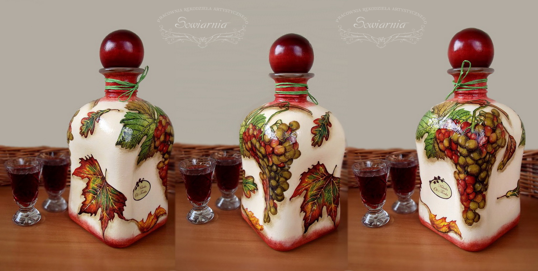 jesienna butelka