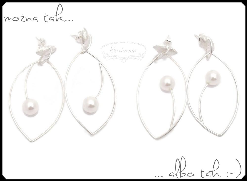 kolczyki od Daria Siwiak Design