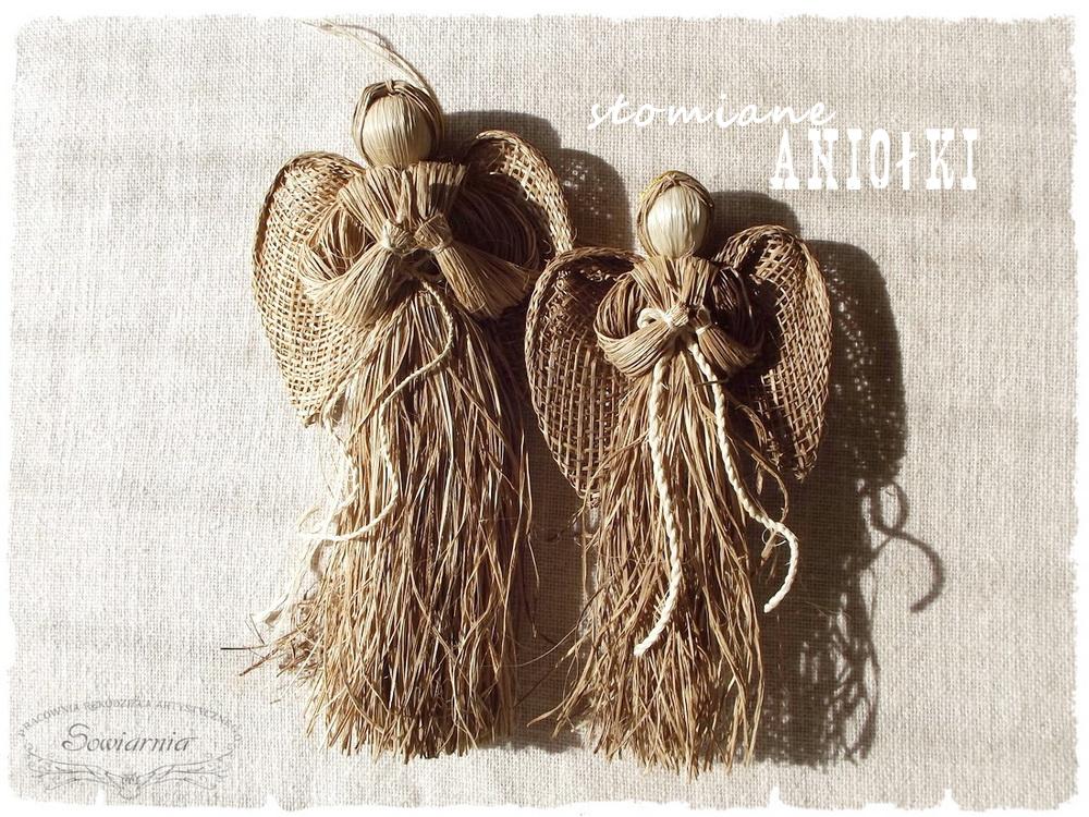 słomiane aniołki z Koniakowa