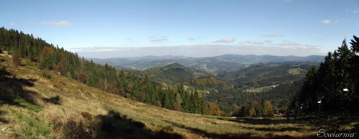Beskid Śląski - okolice Wisły