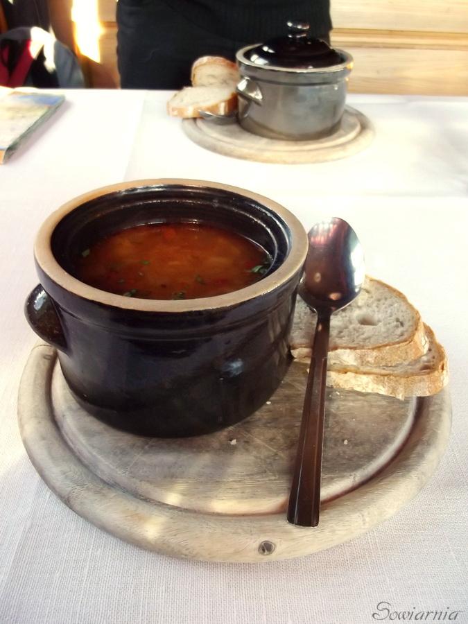 węgierska zupa na Równicy