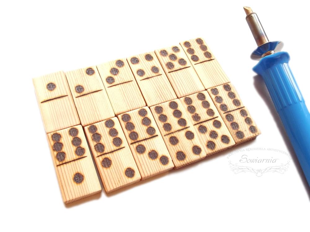 ręcznie robione domino