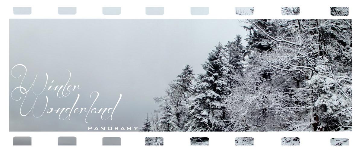 zimowe panoramy
