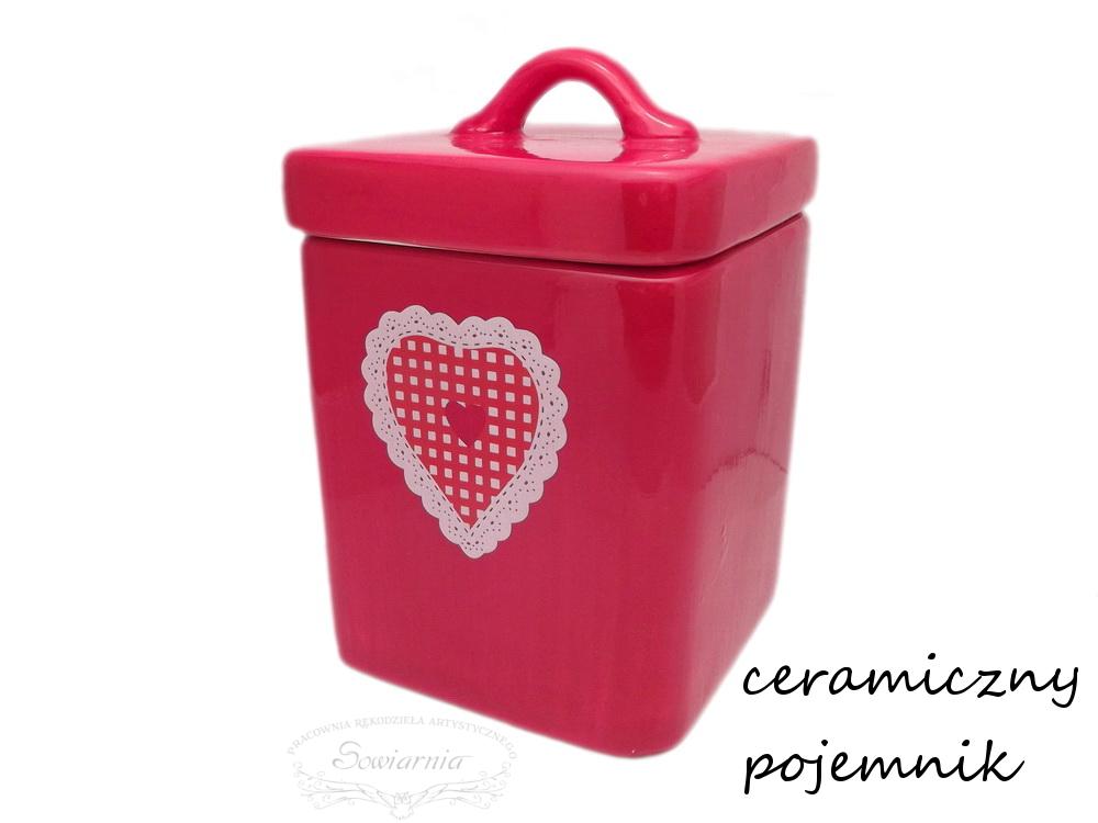 ceramiczny pojemnik