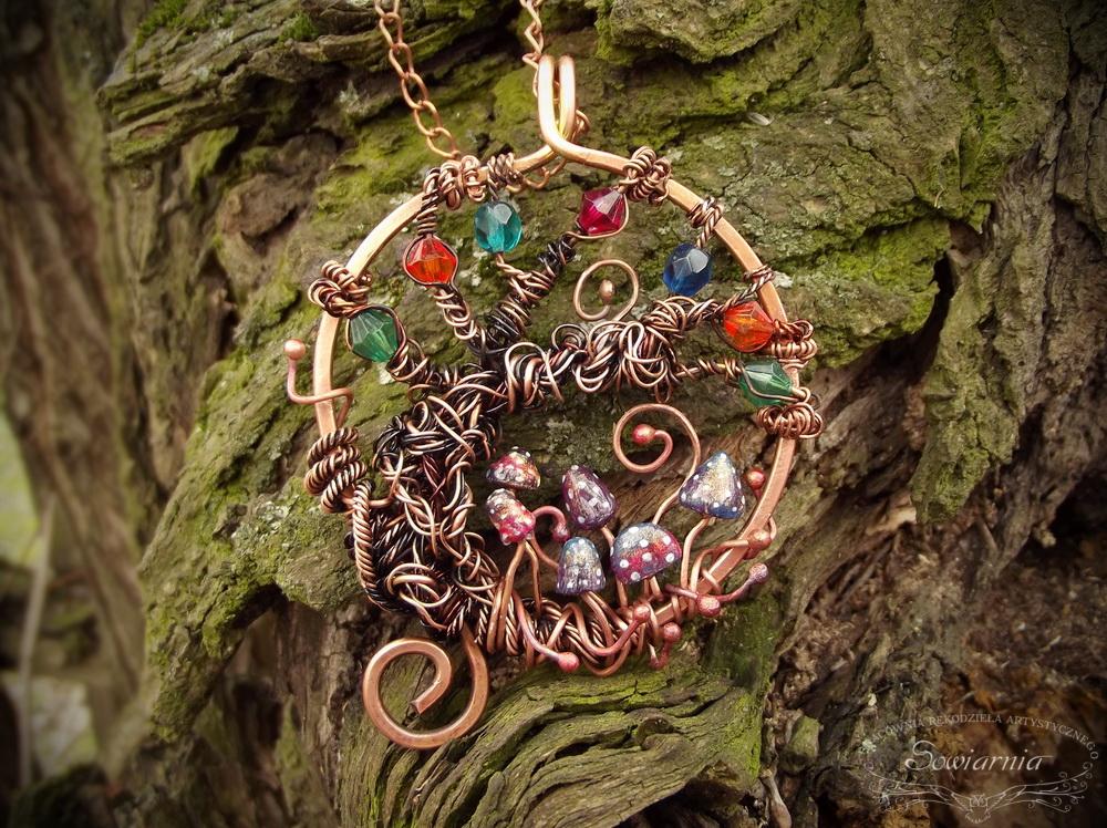 wisior drzewo życia