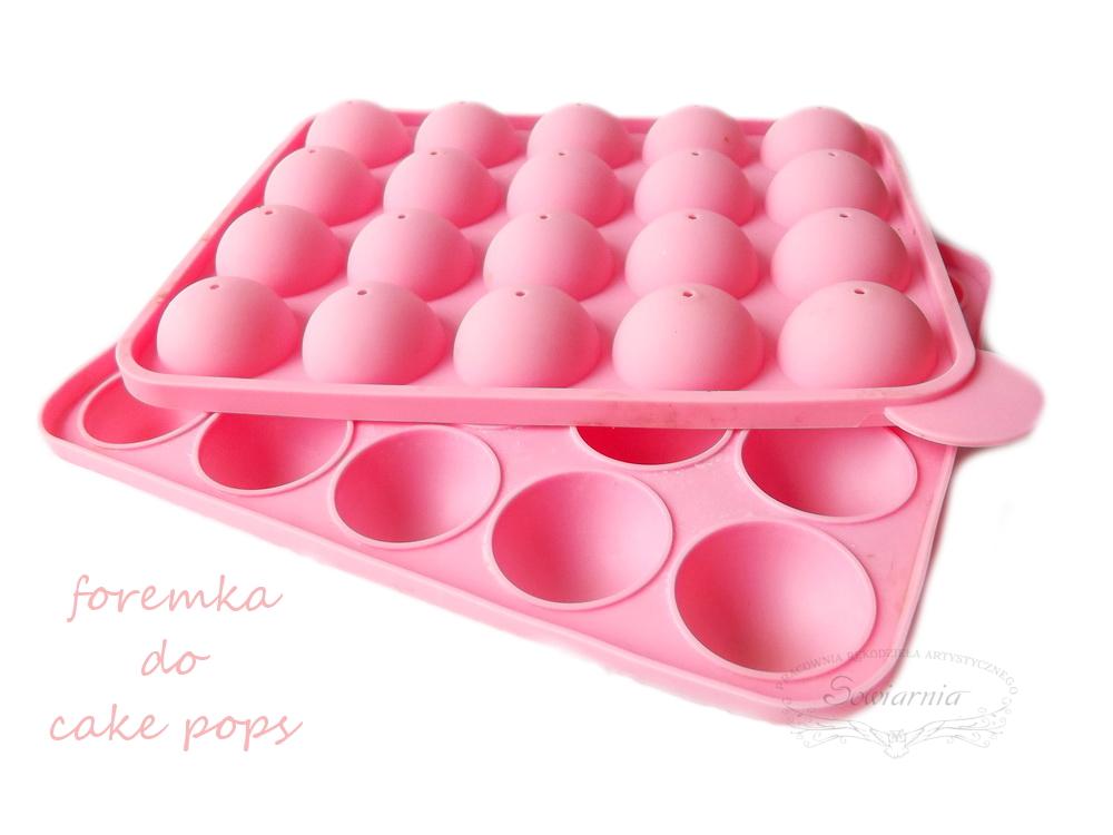 forma do cake pops