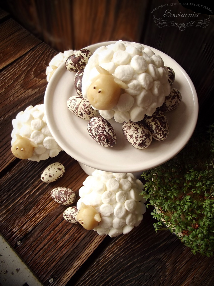 muffinki owieczki