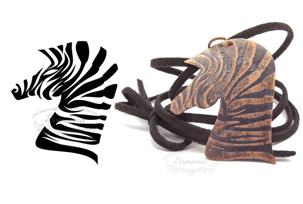 miedziana zebra projekt