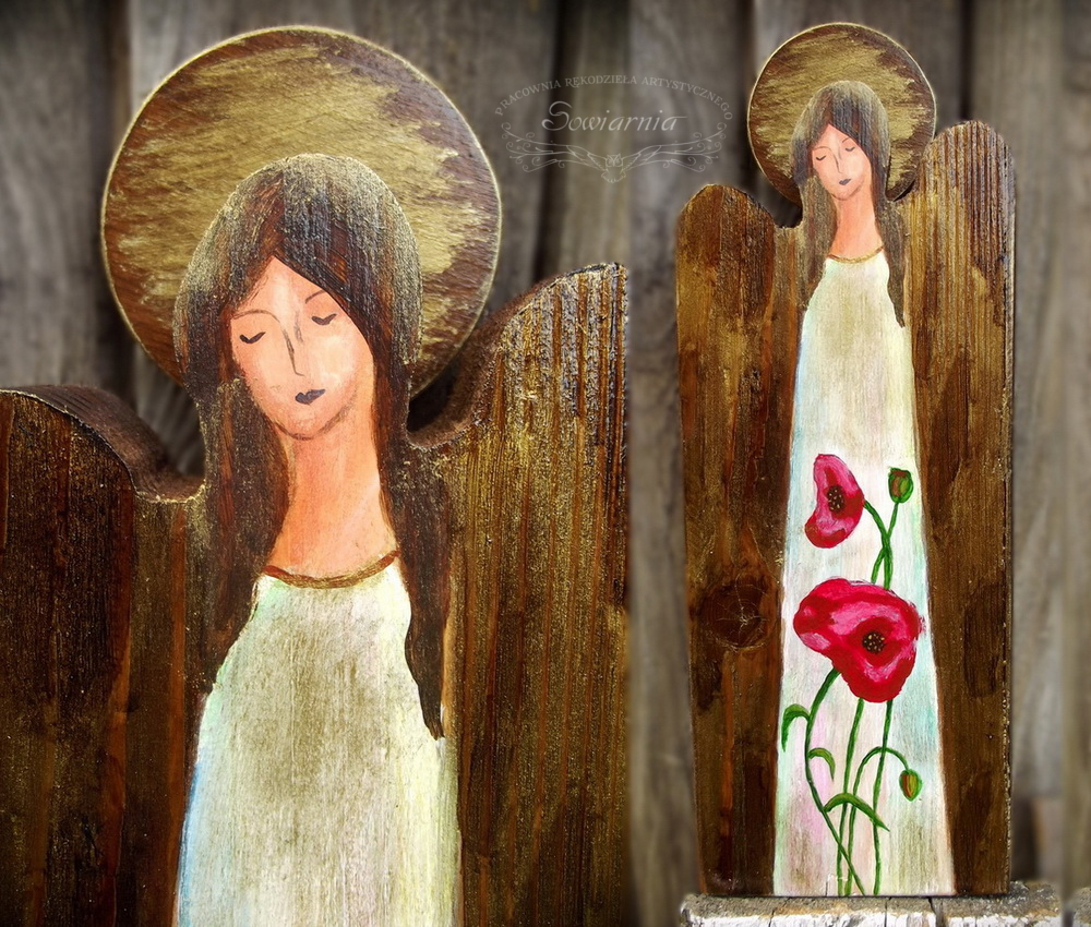 makowy anioł