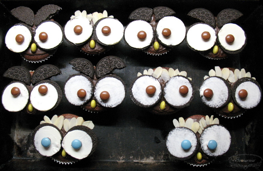 muffinki sówki