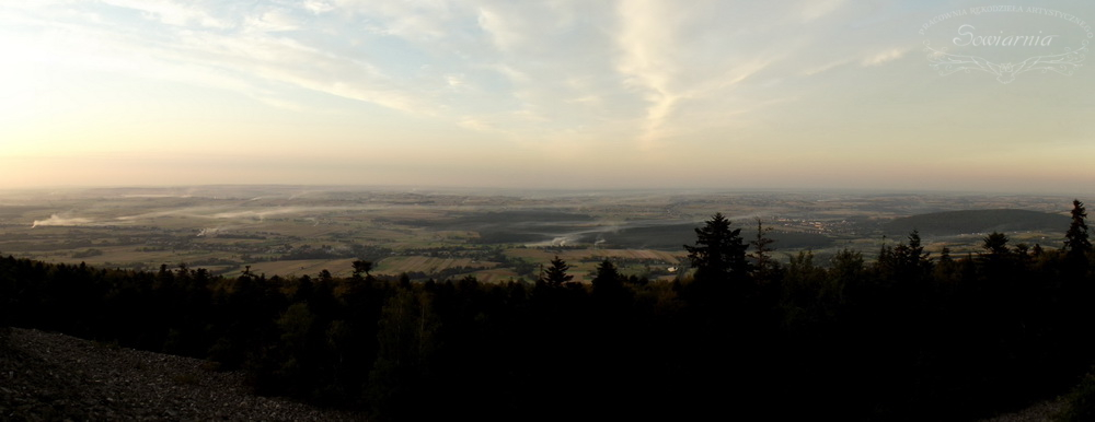 panorama z gołoborza