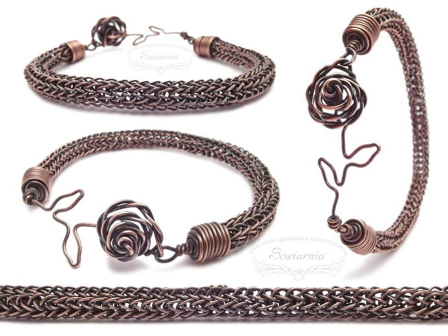 bransoletka viking knit