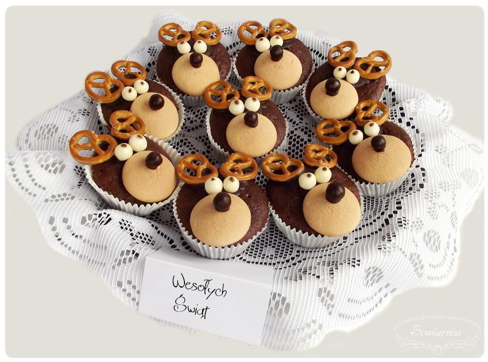 muffinki reniferki