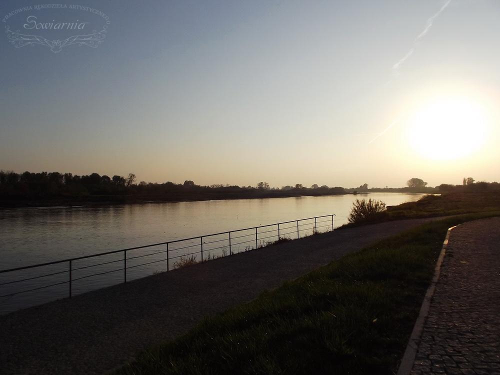 nad Wisłą w Sandomierzu