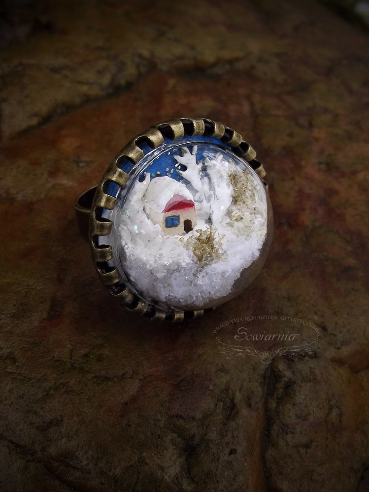 pierścionek 3D