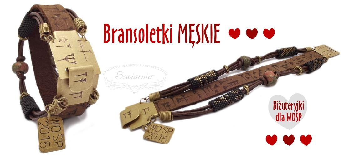 bransoleta męska Biżuteryjki dla WOŚP
