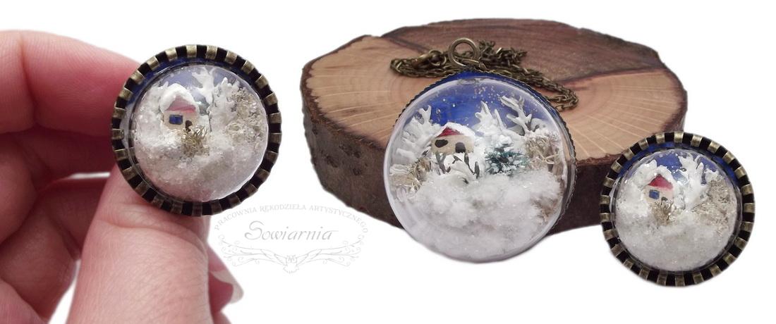 zimowy pierścionek
