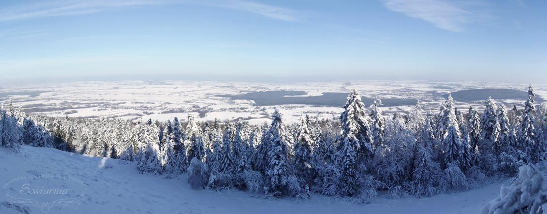 gołoborze zimą