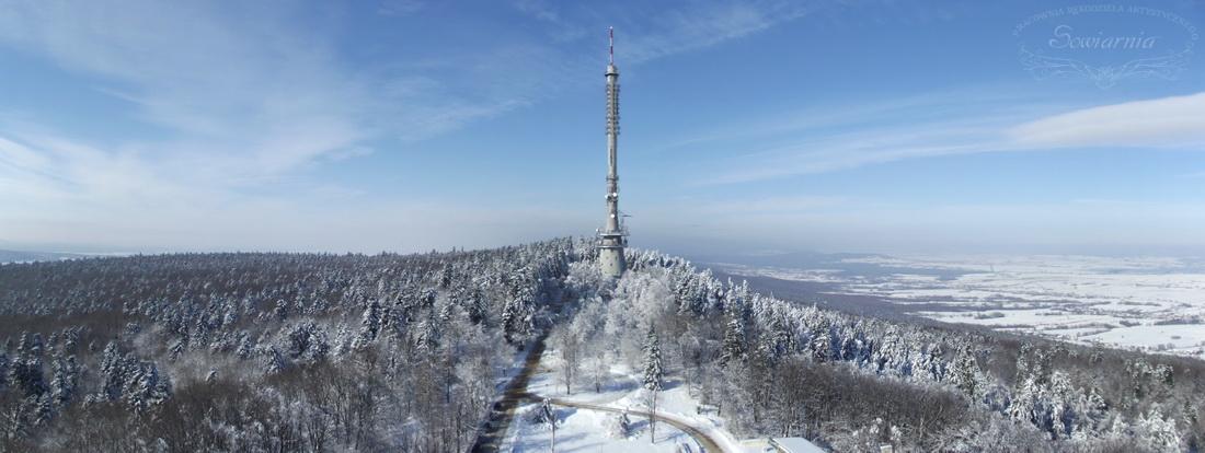 wieża RTV na Świętym Krzyżu