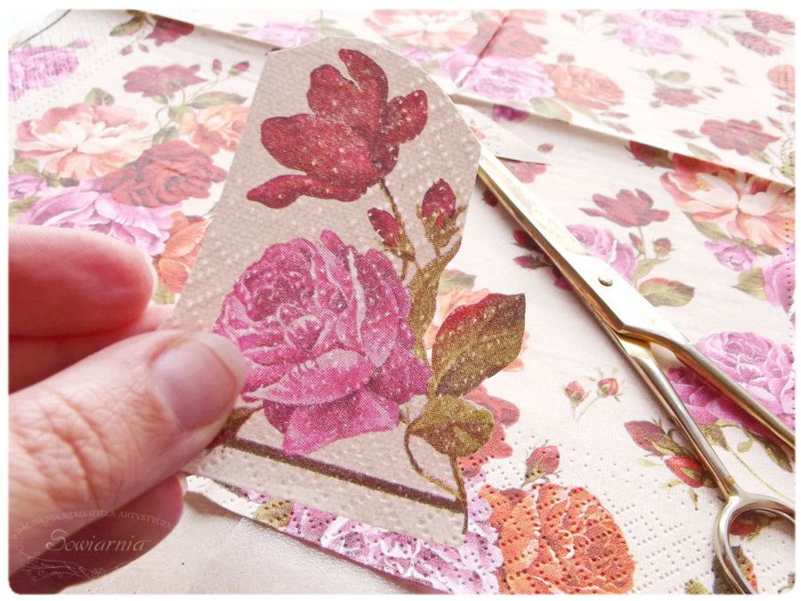 tutorial decoupage