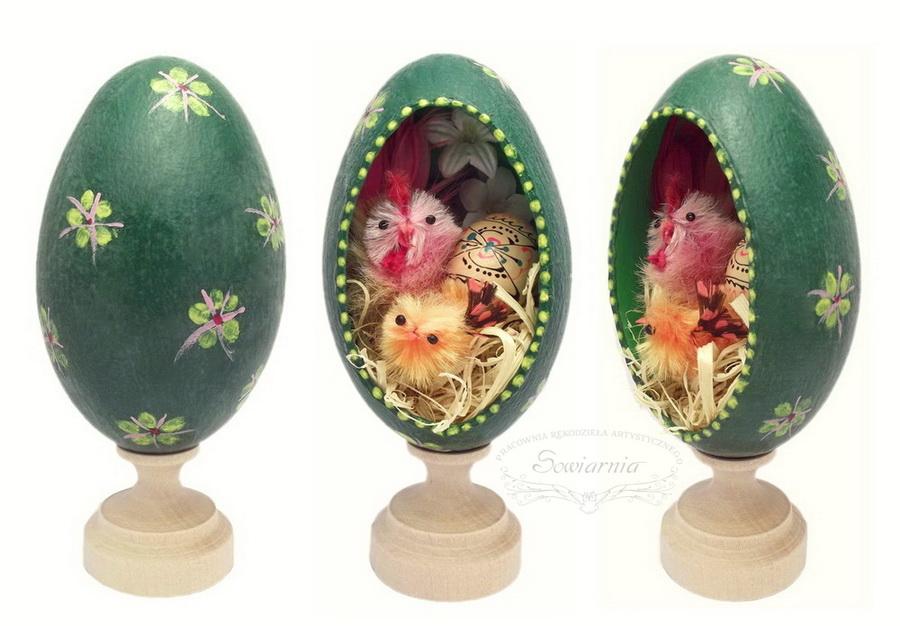 pisanka z gęsiego jaja