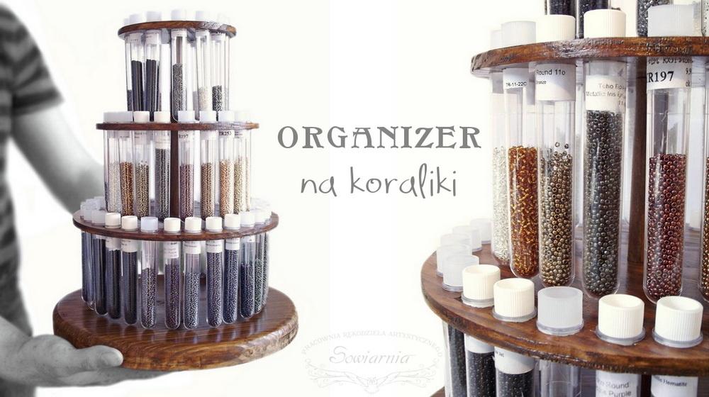 organizer na koraliki