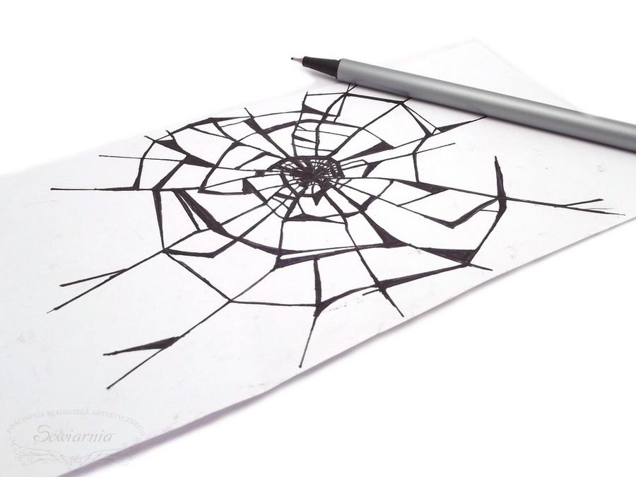 motyw pajęczej sieci