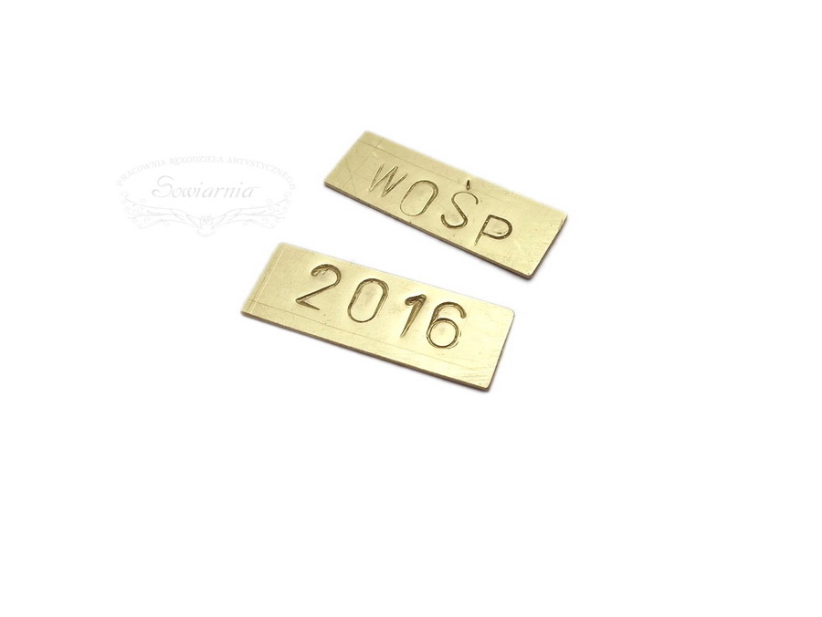 tabliczki WOŚP 2016