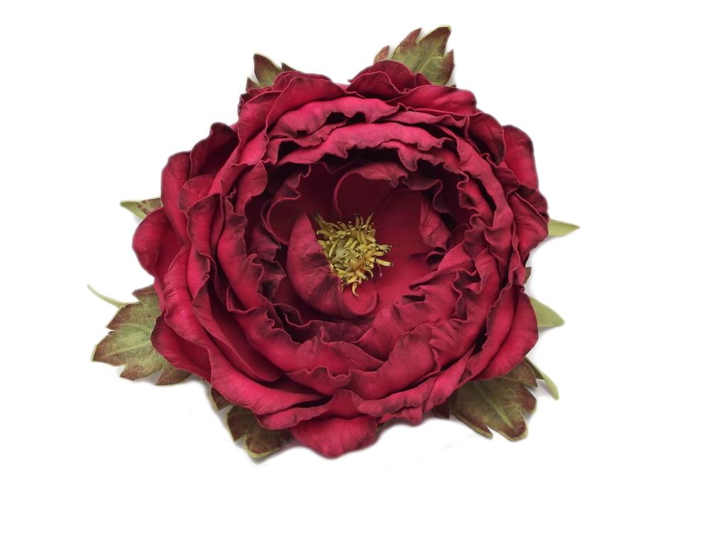 róża z foamiranu od Beaty