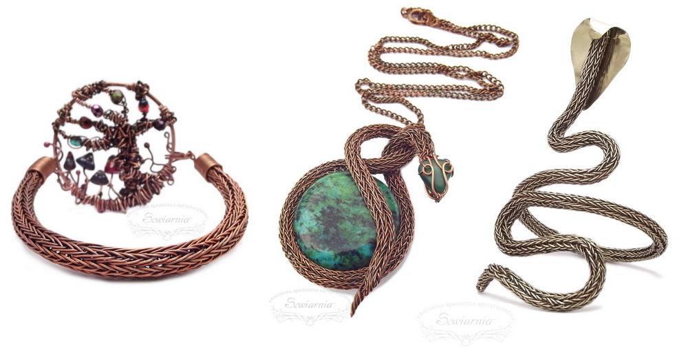 viking knit - splot podwójny