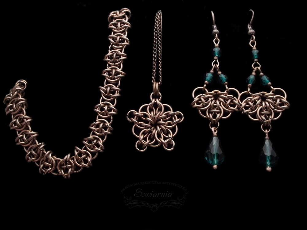 komplet chainmaille Celtic Visions