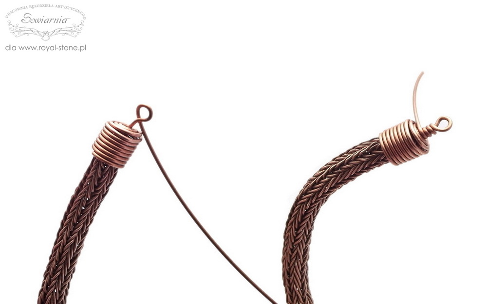 viking knit tutorial - tworzenie końcówek