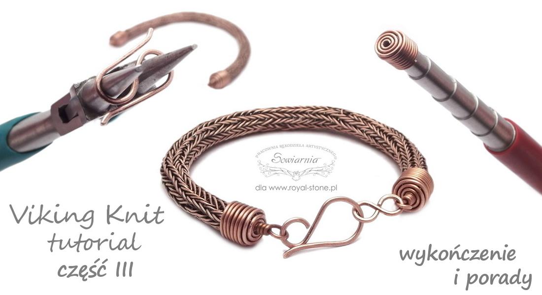 viking knit tutorial - porady i wykończenie