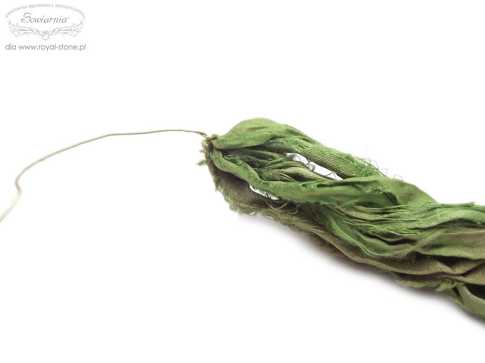 viking knit z jedwabiem sari