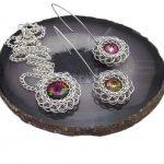 kryształki rivoli w perskich splotach