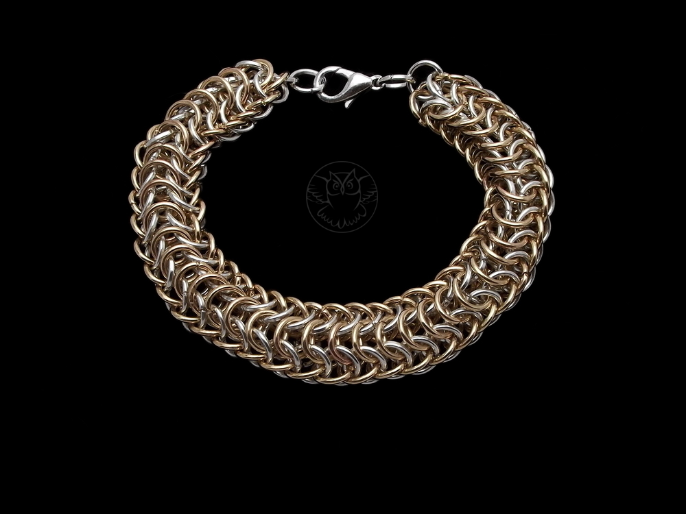bransoletka chainmaille Persian Dragonscale