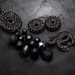 koronkowy komplet chainmaille