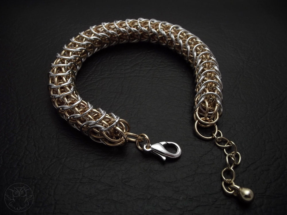bransoletka chainmaille Sand Worm