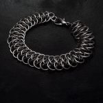 męska bransoleta Viperscale chainmaille