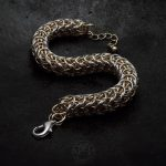 bransoletka chainmaille B8FP (Sand Worm)