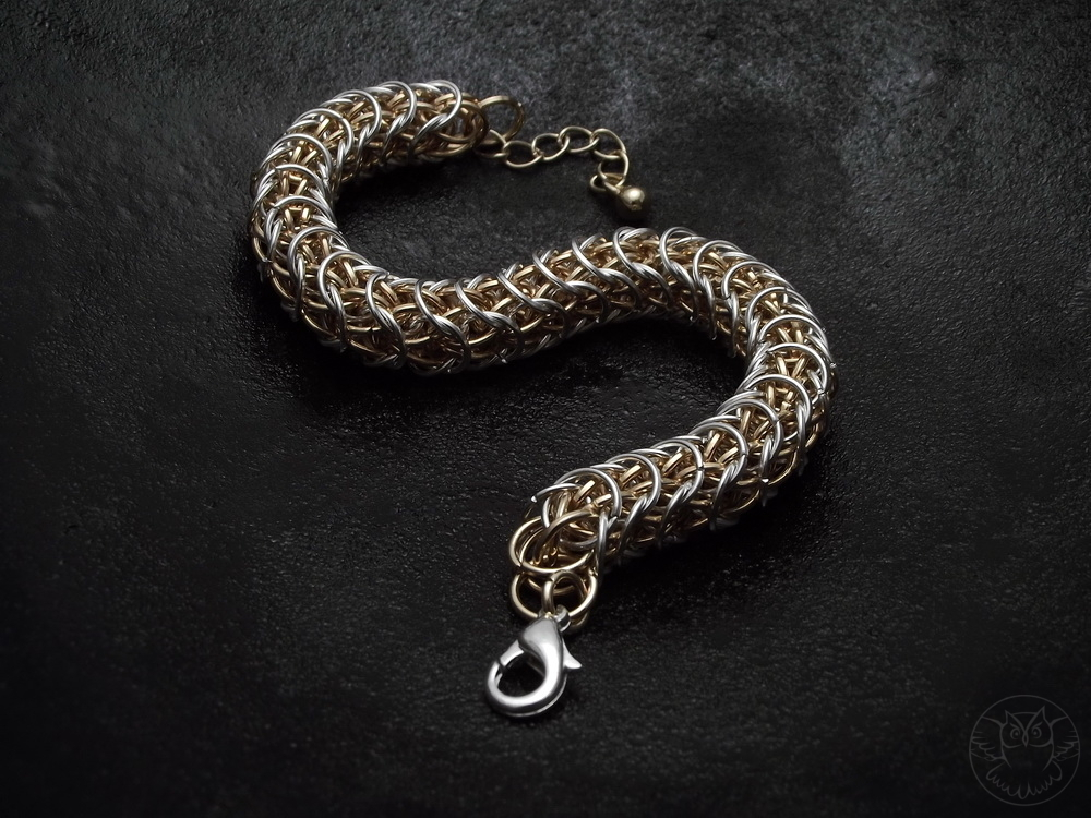 chainmaille B8FP (Sand Worm)