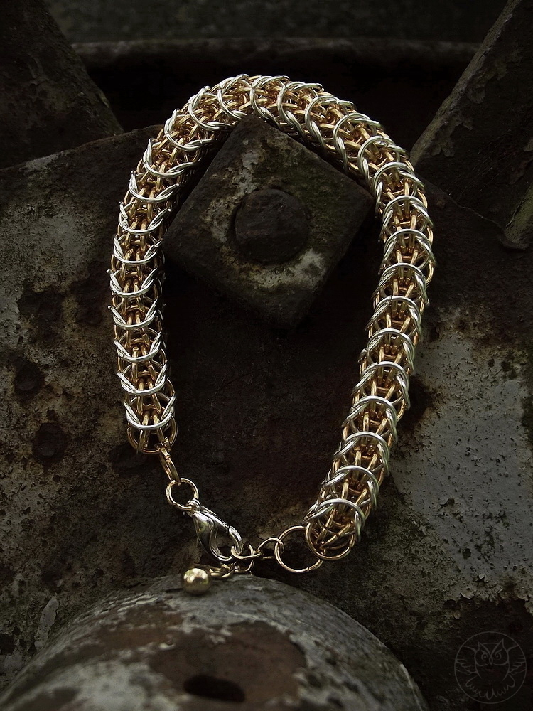 Sand Worm chainmaille