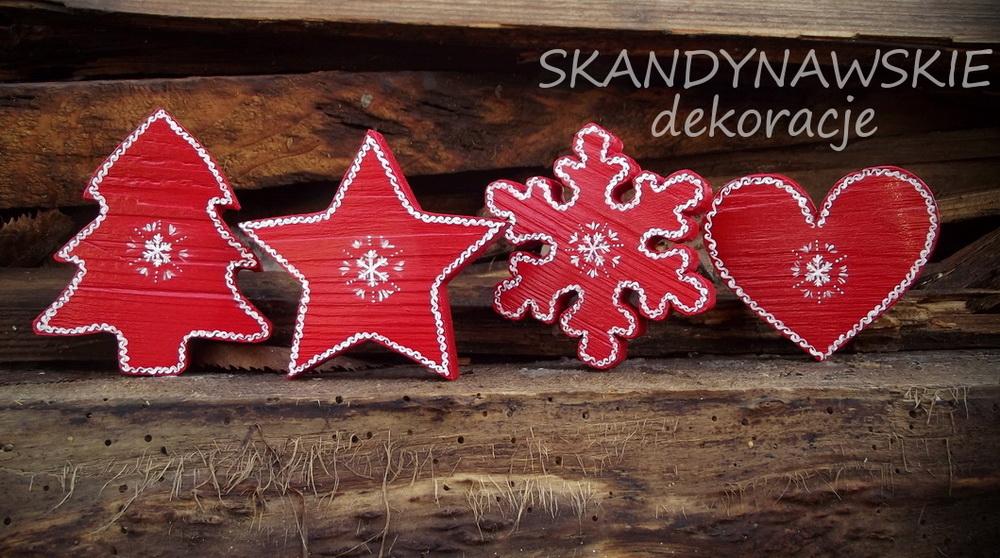 skandynawskie dekoracje świąteczne