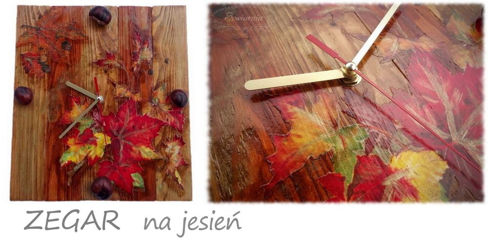 jesienny zegar