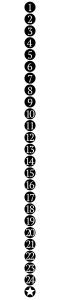 świeca kalendarz - grafika do pobrania