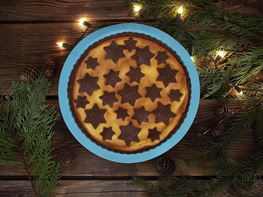 świąteczna tarta serowa