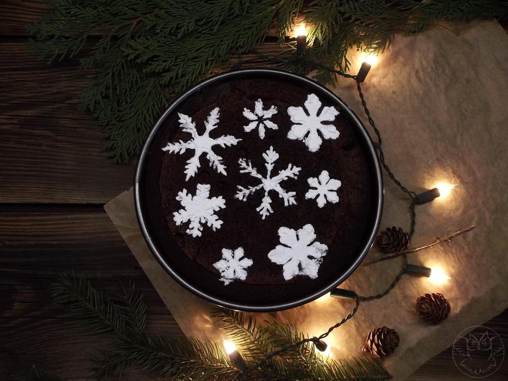 zimowe ciasto czekoladowe