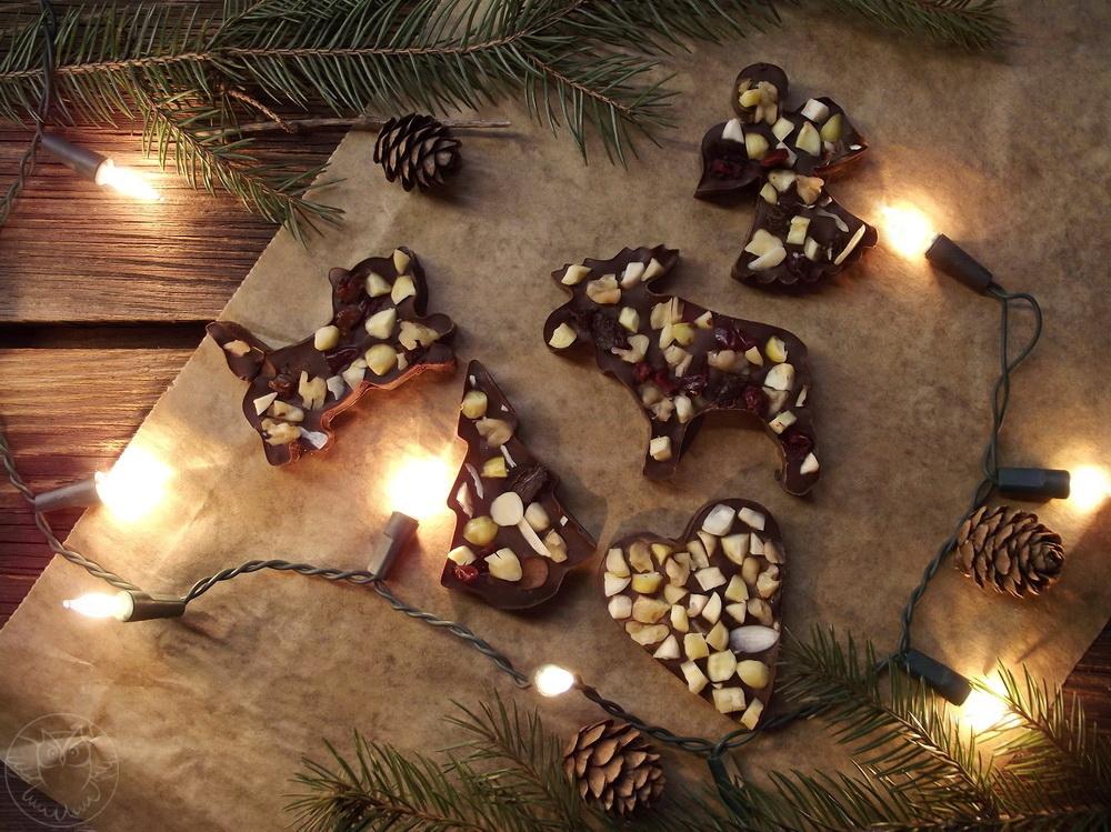 świąteczne czekolady