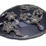 gwiazdkowy komplet biżuterii