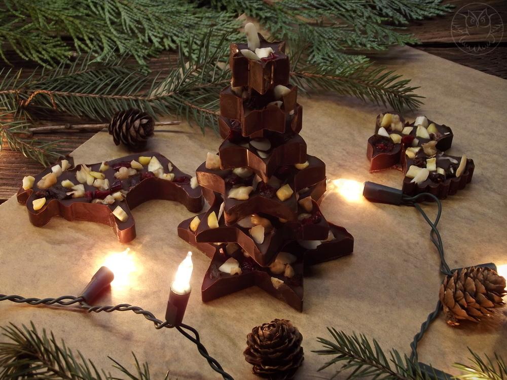czekoladowa choinka